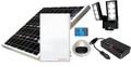 ソーラー蓄電式24時間換気システム