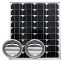 ソーラー床下換気扇ユニット