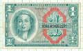 米軍軍票1ドル券 1964年