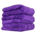 Happy Ending Edgeless MICROFIBER TOWEL PURPLE(16×16)
