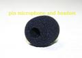 黒色ヘッドセット&旧ピンマイク共通交換スポンジ