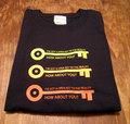 『OPEN KEY #.2 Triple Long』 長袖デザインTシャツ(ブラック)