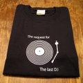 『The last DJ Long』 長袖デザインTシャツ(ブラック)