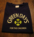 『GREEN DAYS』 半袖デザインTシャツ(ネイビー)