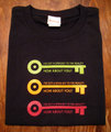 『OPEN KEY triple Ver.2.0』半袖デザインTシャツ(ブラック)