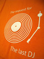 『The last DJ Orange Table』 半袖デザインTシャツ(C・オレンジ)