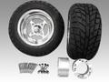 ジャイロ用クロスアルミホイール バギータイヤ&スペーサー70mmセット品番133