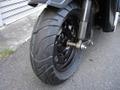 TD02 ジャイロX用10インチ極太フロントストリートタイヤ品番368