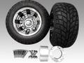 ジャイロ用ブラックアアルミホイールバギータイヤ&スペーサー70mmセット品番135