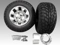 ジャイロ用ツートンアルミホイールバギータイヤ&スペーサー70mmセット品番156