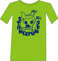 バンビTシャツ<ライムグリーン>