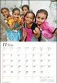 JVC国際協力カレンダー2012「いのちの輝き」壁掛型