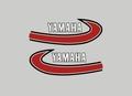 1974-76 Yamaha YZ80タンクデカールセット