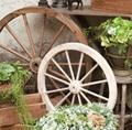 アンティーク調木製車輪