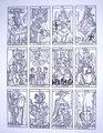 ドダルのマルセイユ・タロット ハンドステンシル版22枚