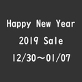 Happy New Year 2019 Sale