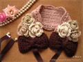 手編みヘッドドレス(Pink)