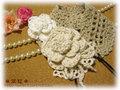 手編みヘアバンド(B)