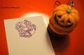 ハロウィン猫とパンプキン