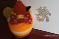 クリスマスツリー☆マカロン持ち手