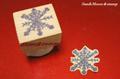 トランプ柄の雪の結晶(再販)