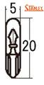 WB535 24V1.4W T5ウエッジ スタンレー