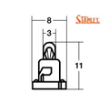 KT021 14V40mA T3 スタンレー