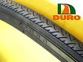Duro HF187 700x25C チューブ(フレンチバルブ)付