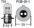 6V25/25W P15D-25-1(台湾製)