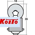 6V10W G18/BA15s(Koito3241)