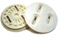 BURTON 3D Rear   Disk WHITE×2