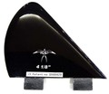 DONALD TAKAYAMA DESIGNS HALO SIDE FIN  4 1/8 T.Black