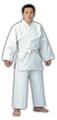 柔道衣セット(上衣+ズボン+帯)ホワイト・適合身長125~140cm
