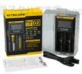 Nitecore Intellicharger D2 LCD Batteryチャージャー