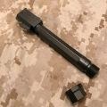 RWA マルイG17用 Agency Arms サイレンサー対応アウターバレル(ブラック)