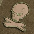 Magpul 10th Anniversary Logo Patch DesertTan