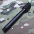 KJワークス CZ P-09 Duty用 サイレンサーアウターバレル(14mm逆ネジ)