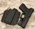 RCS  G19/XC1 ファントム・ライト・ホルスター  SHORT SHIELD Black