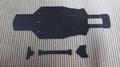 イェーガー2用 メインシャーシ&アッパーデッキ Ver.S試作 ブラック艶無 (210mm/225mm)