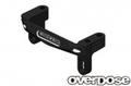 OD2176 アルミサーボマウント ブラック For XEX/Vspec.