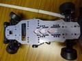 TS-159 CER・CE-RX用 3.0mmカーボンメインシャーシー(シルバー)