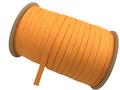ウーリー カラー (オレンジ) ポ リエステル ストラップ 平紐 100 M ボビン巻 幅:10mm