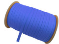 ウーリー カラー (青) ポリエス テル ストラップ 平紐 100M ボビ ン巻 幅:10mm