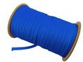 ウーリー カラー (青) ポリエス テル ストラップ 平紐 100M ボビ ン巻 幅:7mm
