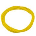 絶縁破壊電圧 1.5KV以上  シリコンガラスチューブ (黄) 内径3mm 1M品 10本入り