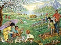 聖書ポスター パラダイスの子供たち N84-2