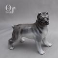 オキュパイドジャパン ボストンテリア犬 磁器人形