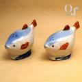 魚の塩こしょう入れ  オキュパイドジャパン