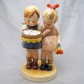 オキュパイドジャパン ケーキと少女ふたり フンメル風