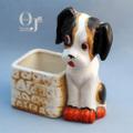 オキュパイドジャパン ビーグル犬のプランター